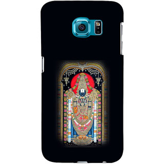 ifasho Tirupati Balaji Back Case Cover for Samsung Galaxy S6 Edge Plus