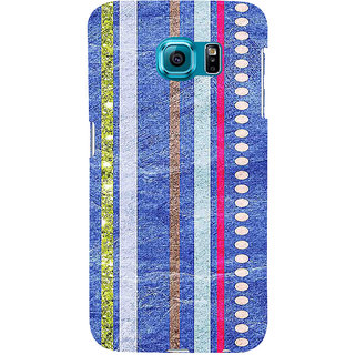 ifasho Animated Pattern colrful 3Dibal design Back Case Cover for Samsung Galaxy S6