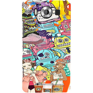 ifasho Gang Of Girls Back Case Cover for Nokia Lumia 950
