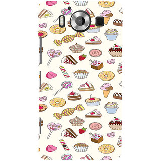 ifasho Animated food pattern Back Case Cover for Nokia Lumia 950