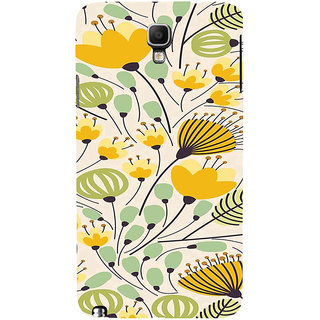 ifasho Animated Pattern colrful flower with leaves Back Case Cover for Samsung Galaxy Note3 Neo