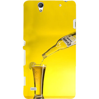 ifasho Beer Back Case Cover for Sony Xperia C4