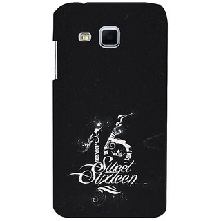 ifasho sweet sixteen quotes Back Case Cover for Samsung Galaxy J3