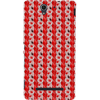 ifasho Animated  Feather Back Case Cover for Sony Xperia C3 Dual