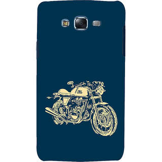 ifasho Fierry Bike Back Case Cover for Samsung Galaxy J7