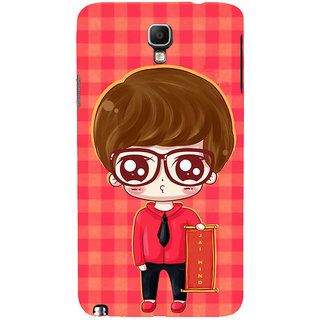 ifasho Crazy Boy Back Case Cover for Samsung Galaxy Note3 Neo
