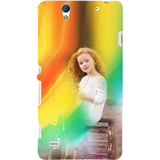 ifasho Girl playing Back Case Cover for Sony Xperia C4