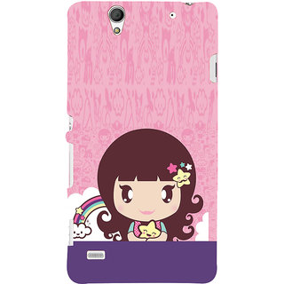 ifasho Cute Baby Back Case Cover for Sony Xperia C4