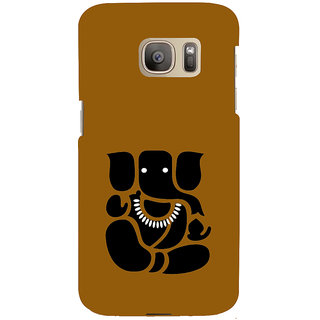 ifasho Modern Art Ganesh Back Case Cover for Samsung Galaxy S7 Edge