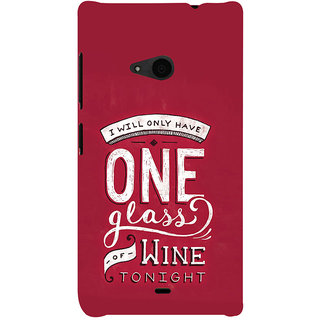 ifasho drink quotes Back Case Cover for Nokia Lumia 535