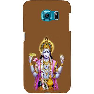 ifasho Lord Vishnu Back Case Cover for Samsung Galaxy S6 Edge Plus