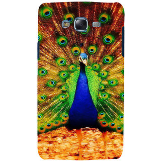 ifasho Beautiful Peacock Back Case Cover for Samsung Galaxy J5