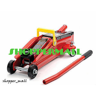 NEW DESIGN HAND OPERATED 2 TON HYDRAULIC TROLLEY JACK LEO
