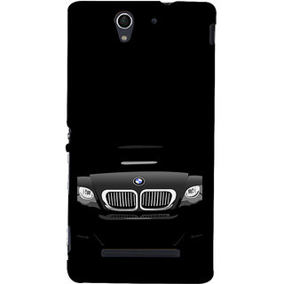 ifasho Stylish long Car Back Case Cover for Sony Xperia C3 Dual