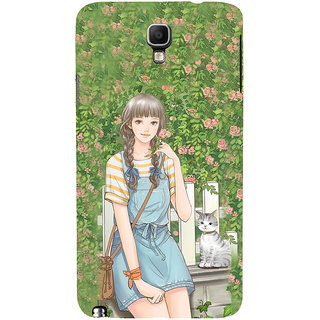 ifasho Girl in park Back Case Cover for Samsung Galaxy Note3 Neo