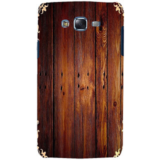 ifasho Animated Royal Pattern with Wooden back ground Back Case Cover for Samsung Galaxy J5