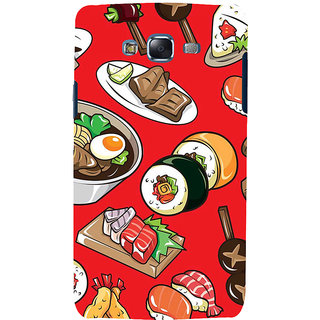 ifasho Animated food pattern Back Case Cover for Samsung Galaxy J7