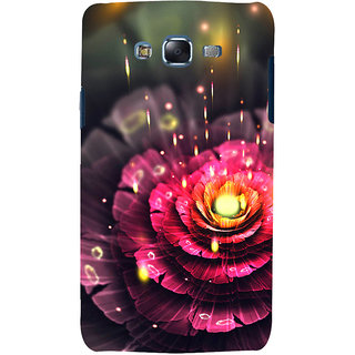 ifasho water Drop on flower Back Case Cover for Samsung Galaxy J7