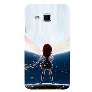ifasho Girl with blade animated Back Case Cover for Samsung Galaxy J3