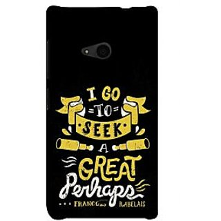 ifasho Life quote Back Case Cover for Nokia Lumia 535