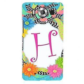 ifasho alphabet name series H Back Case Cover for Nokia Lumia 950