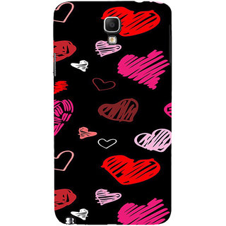 ifasho Animated Pattern With Love Back Case Cover for Samsung Galaxy Note3 Neo