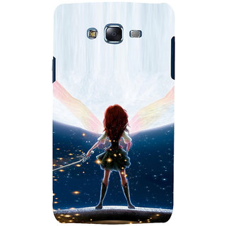 ifasho Girl with blade animated Back Case Cover for Samsung Galaxy J5