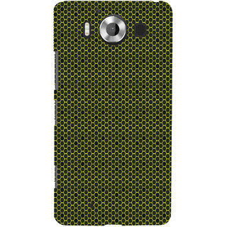 ifasho Modern Art Design Pattern honey Bee case style Back Case Cover for Nokia Lumia 950