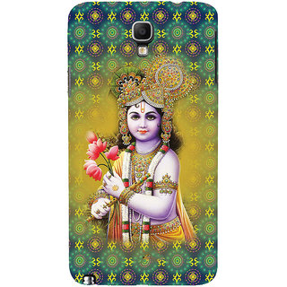 ifasho Lord Krishna in bal avtar Back Case Cover for Samsung Galaxy Note3 Neo