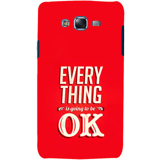 ifasho everything will be ok quotes Back Case Cover for Samsung Galaxy J5