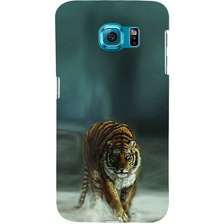 ifasho Leopard resting Back Case Cover for Samsung Galaxy S6