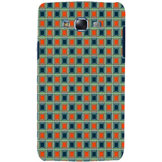 ifasho Colour Full Square Pattern Back Case Cover for Samsung Galaxy J5