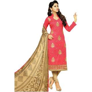MAHATI chanderi cotton unstitched salwar suits