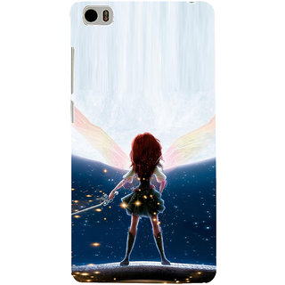 ifasho Girl with blade animated Back Case Cover for Redmi Mi5