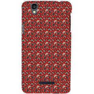 ifasho Modern Art Design animated cloth Pattern of flower Back Case Cover for YU Yurekha