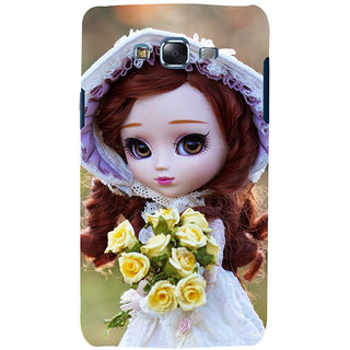 ifasho Girl with flower in hand Back Case Cover for Samsung Galaxy J5