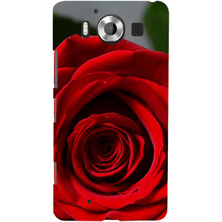ifasho Red Rose Back Case Cover for Nokia Lumia 950