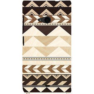 ifasho 3Diangular Pattern Back Case Cover for Nokia Lumia 535