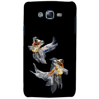 ifasho Fish in Blue See Back Case Cover for Samsung Galaxy J7