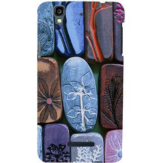 ifasho Rocks with different design Modern Design Back Case Cover for YU Yurekha