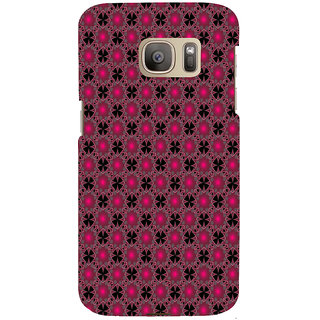 ifasho Animated Pattern design many small flowers  Back Case Cover for Samsung Galaxy S7 Edge