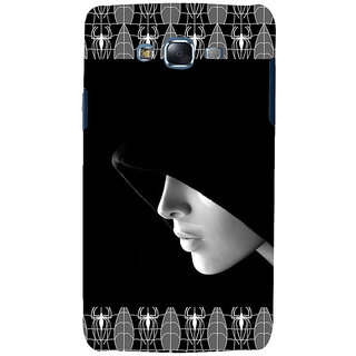 ifasho covered Girl and Spider Back Case Cover for Samsung Galaxy J5