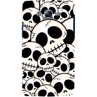 ifasho Modern  Design skeleton Pattern Back Case Cover for Samsung Galaxy J5