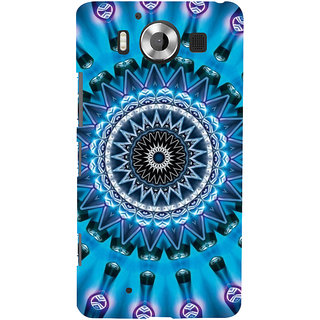 ifasho Animated Pattern design colorful flower in royal style Back Case Cover for Nokia Lumia 950