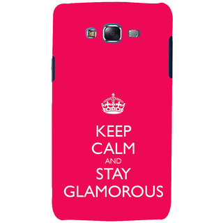 ifasho Nice Quote On Keep Calm Back Case Cover for Samsung Galaxy J5