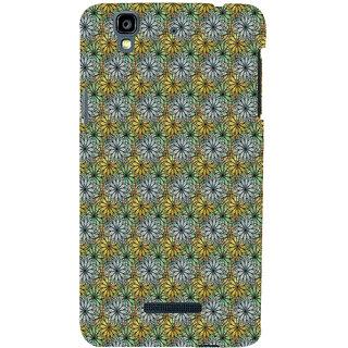 ifasho Animated Pattern design many small flowers  Back Case Cover for YU Yurekha