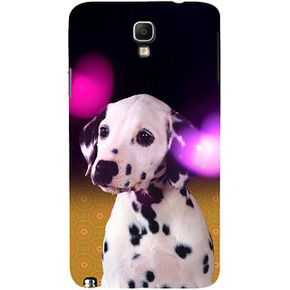 ifasho Black and White Dot Dog Back Case Cover for Samsung Galaxy Note3 Neo