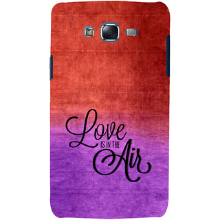 ifasho Love is in the air Back Case Cover for Samsung Galaxy J7 (2016)
