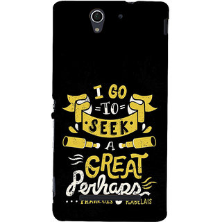 ifasho Life quote Back Case Cover for Sony Xperia C3 Dual