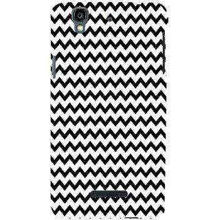 ifasho Animated Pattern of Chevron Arrows royal style Back Case Cover for YU Yurekha